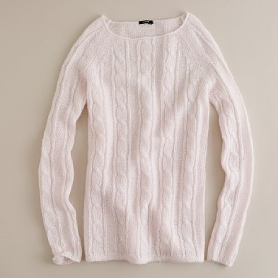 dolce cable-knit sweater